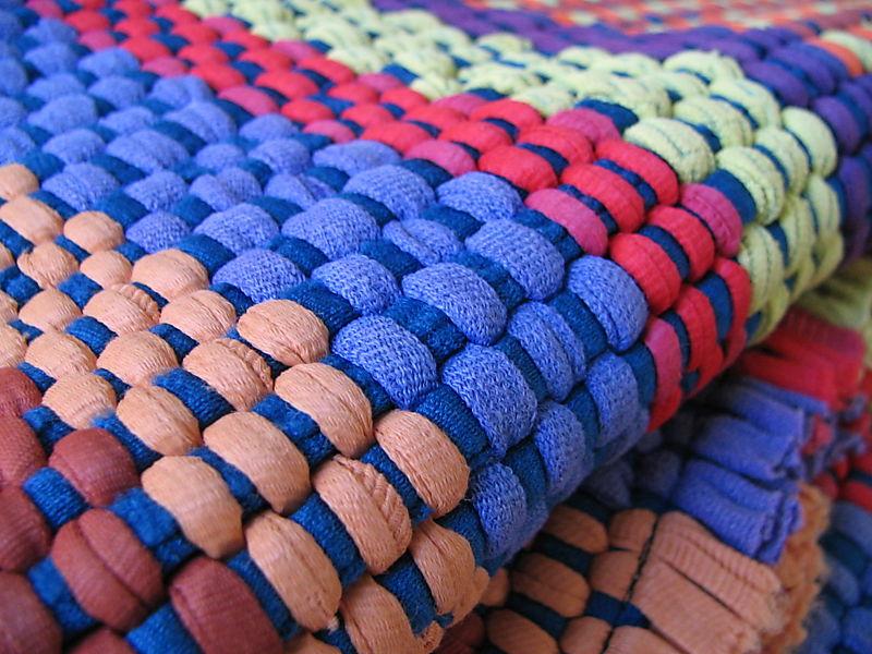 Gma's Colorful Rug, 2