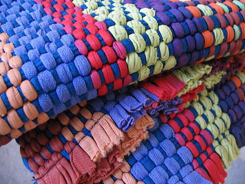 Gma's Colorful Rug, 6