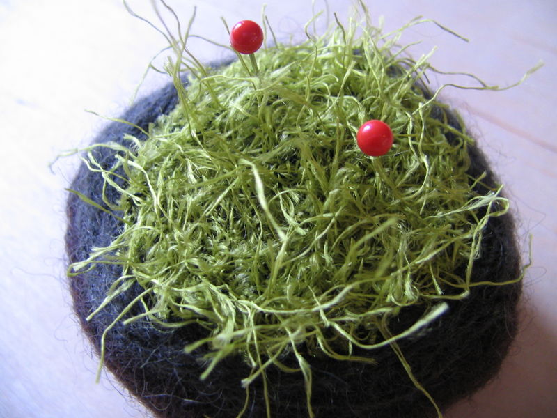Moss Lavender Pincushion 8, 7