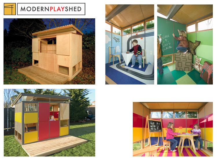 Modern Play Shed 1