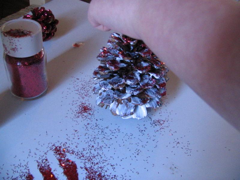 Glitter Pinecones, 3