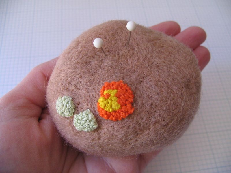 Lichen Peppermint Pincushion 2, 7