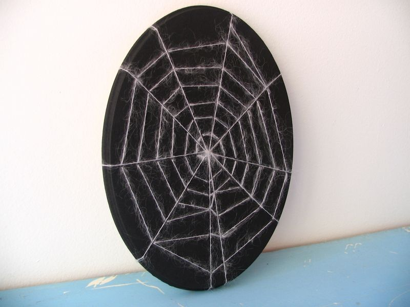 Spider Web Plaque 1, 1