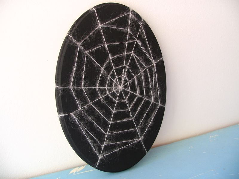 Spider Web Plaque 2, 2
