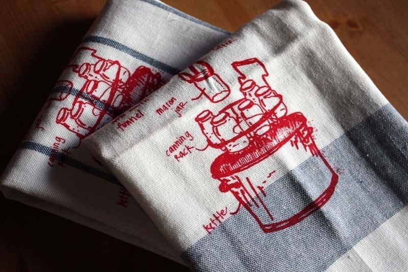 Canning towel