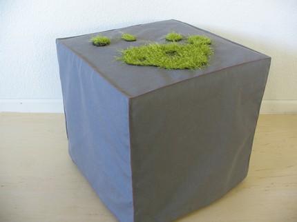 Moss Ottoman Slipcover
