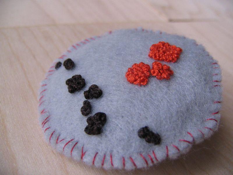 Lichen Lavender Brooch 4, 6