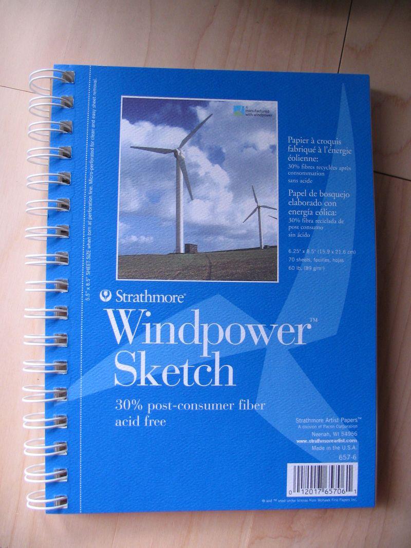 New Sketchbook Size