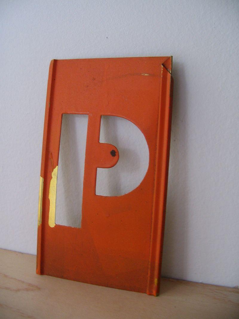 P Stencil, 1