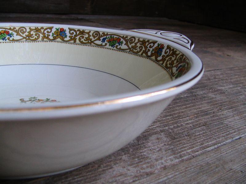 Floral Serving Bowl, 4