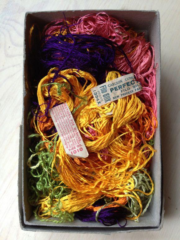 Antique Silk Floss